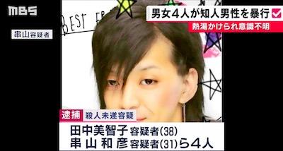 田中美智子容疑者のニュース画像